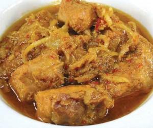 Pork ginger curry