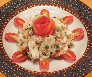 Bangkok silver noodle salad