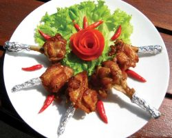 Fried Thai chicken wings