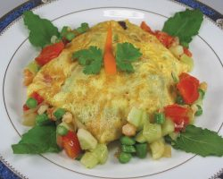 Stuffed omelet