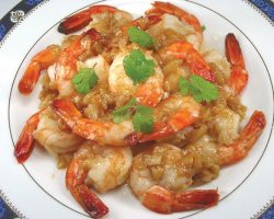 Garlic pepper Shrimp