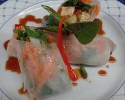 Thai fresh rolls (Gluten free)