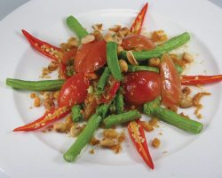 Spicy long green bean Salad