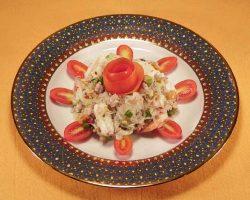 Silver noodles salad