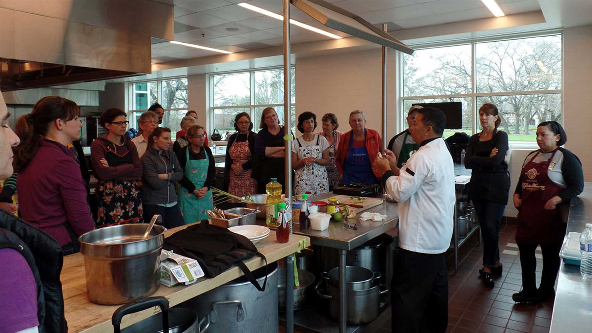 Thai cooking class with chef Phant
