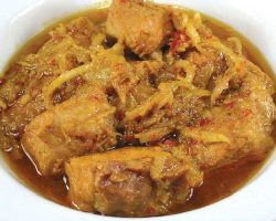 Ginger curry pork